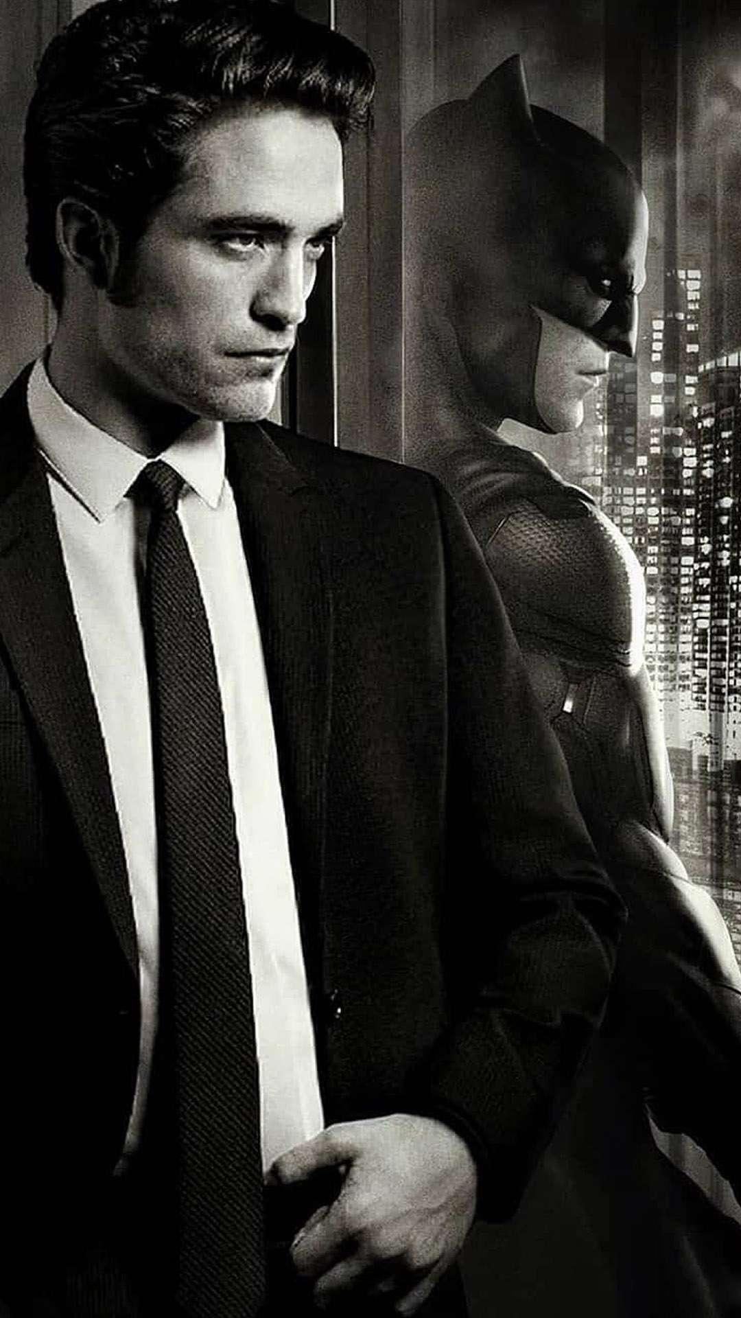 Batman Robert Pattinson iPhone Wallpaper
