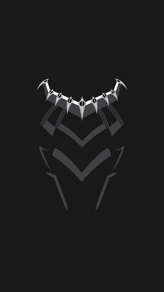 Black Panther Suit iPhone Wallpaper