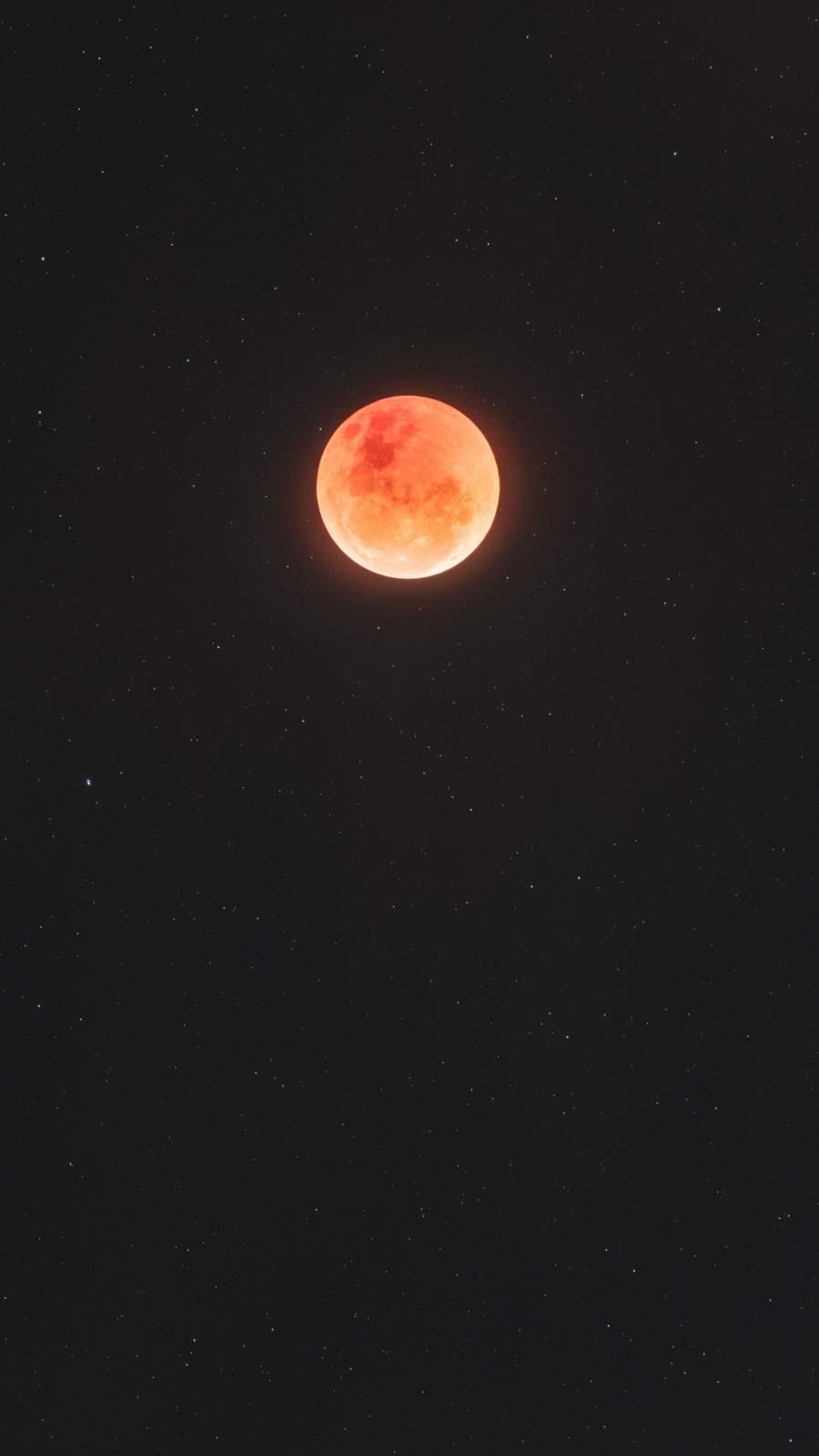 Blood Moon iPhone Wallpape