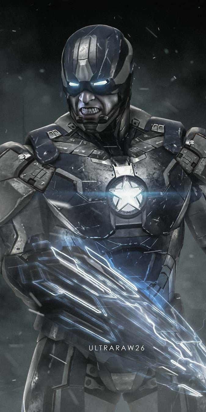 Captain America Armor iPhone Wallpaper