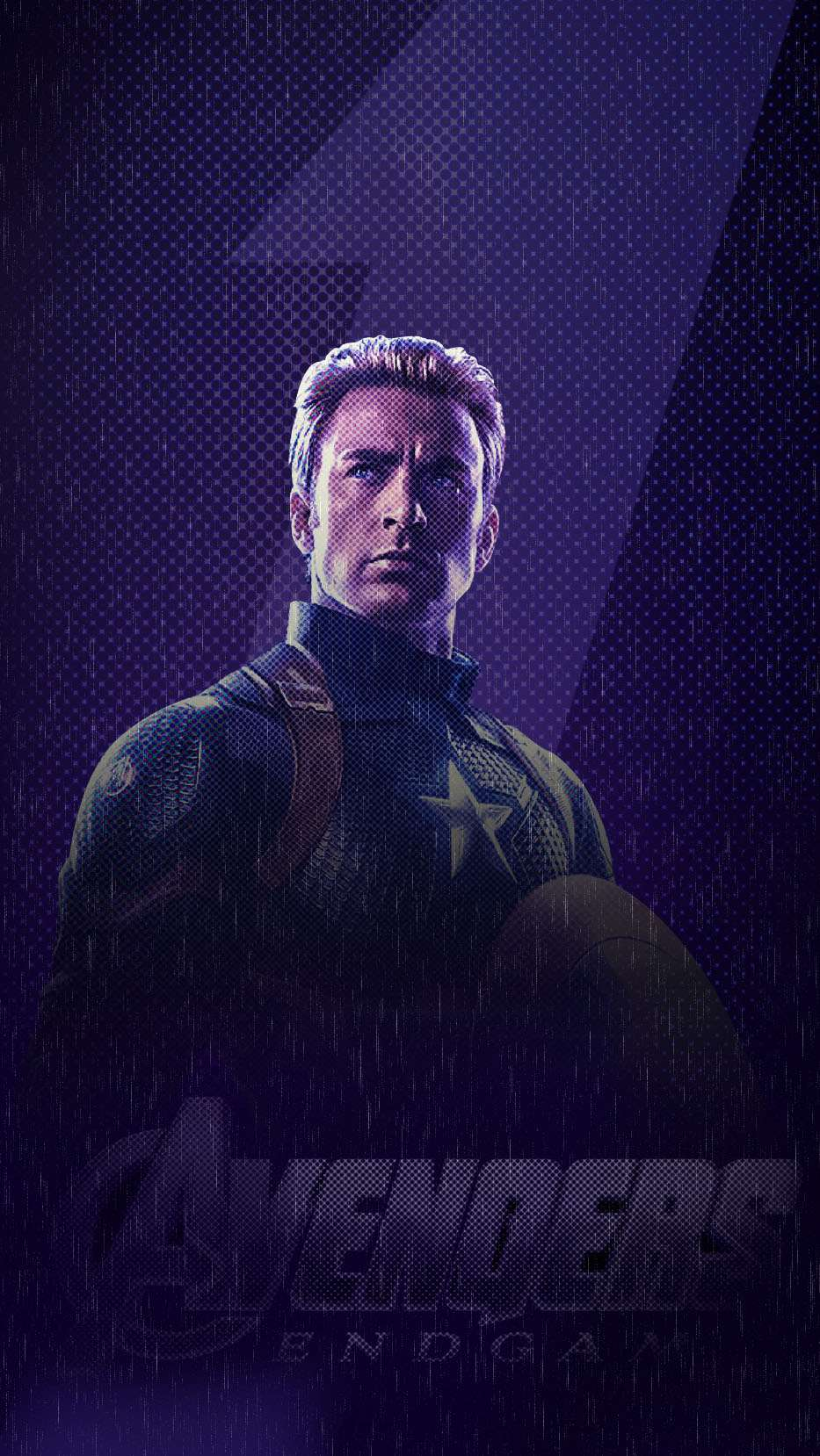 Captain America Endgame iPhone Wallpaper