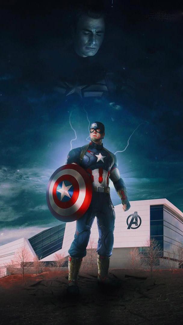 Captain America Legend iPhone Wallpaper iPhone Wallpaper