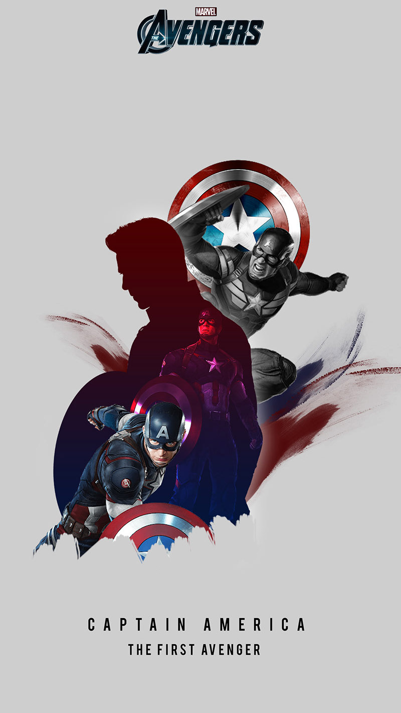 Captain America The First Avenger iPhone Wallpaper