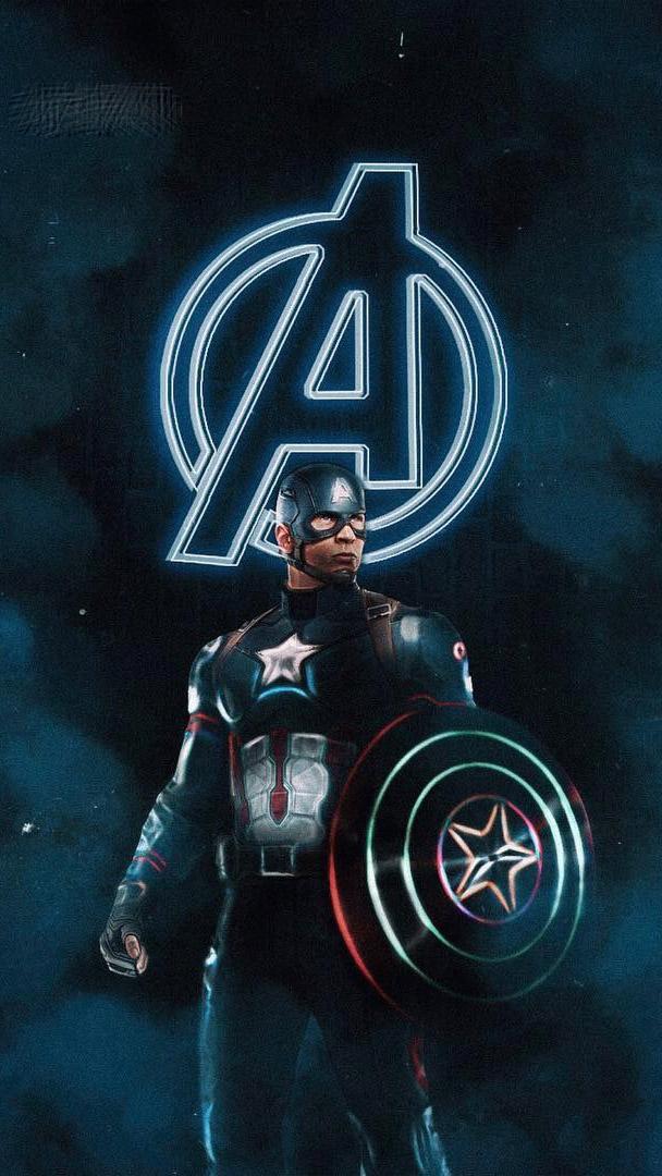 Captain America The Oldest Avenger iPhone Wallpaper