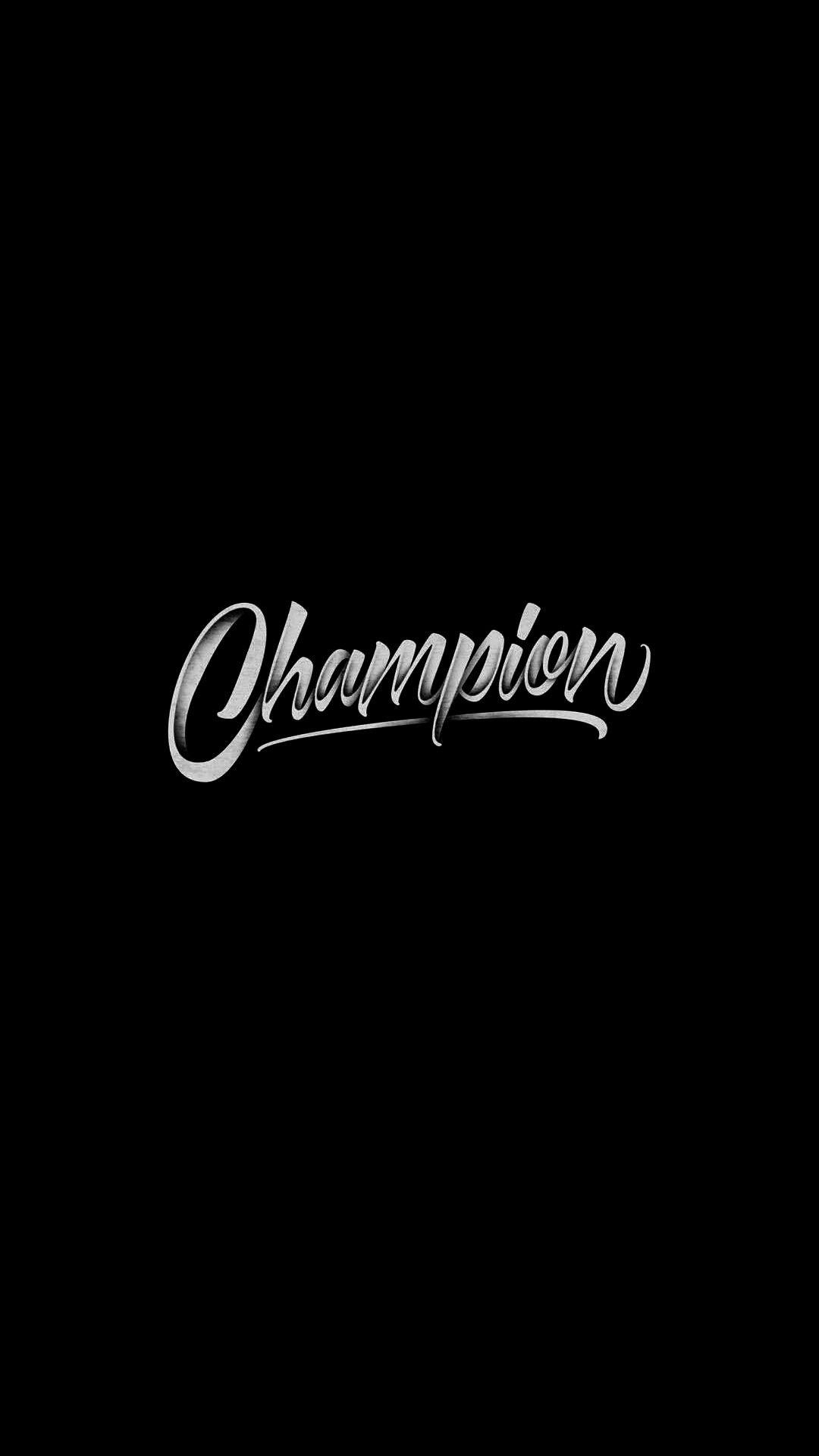 Champion iPhone Wallpaper