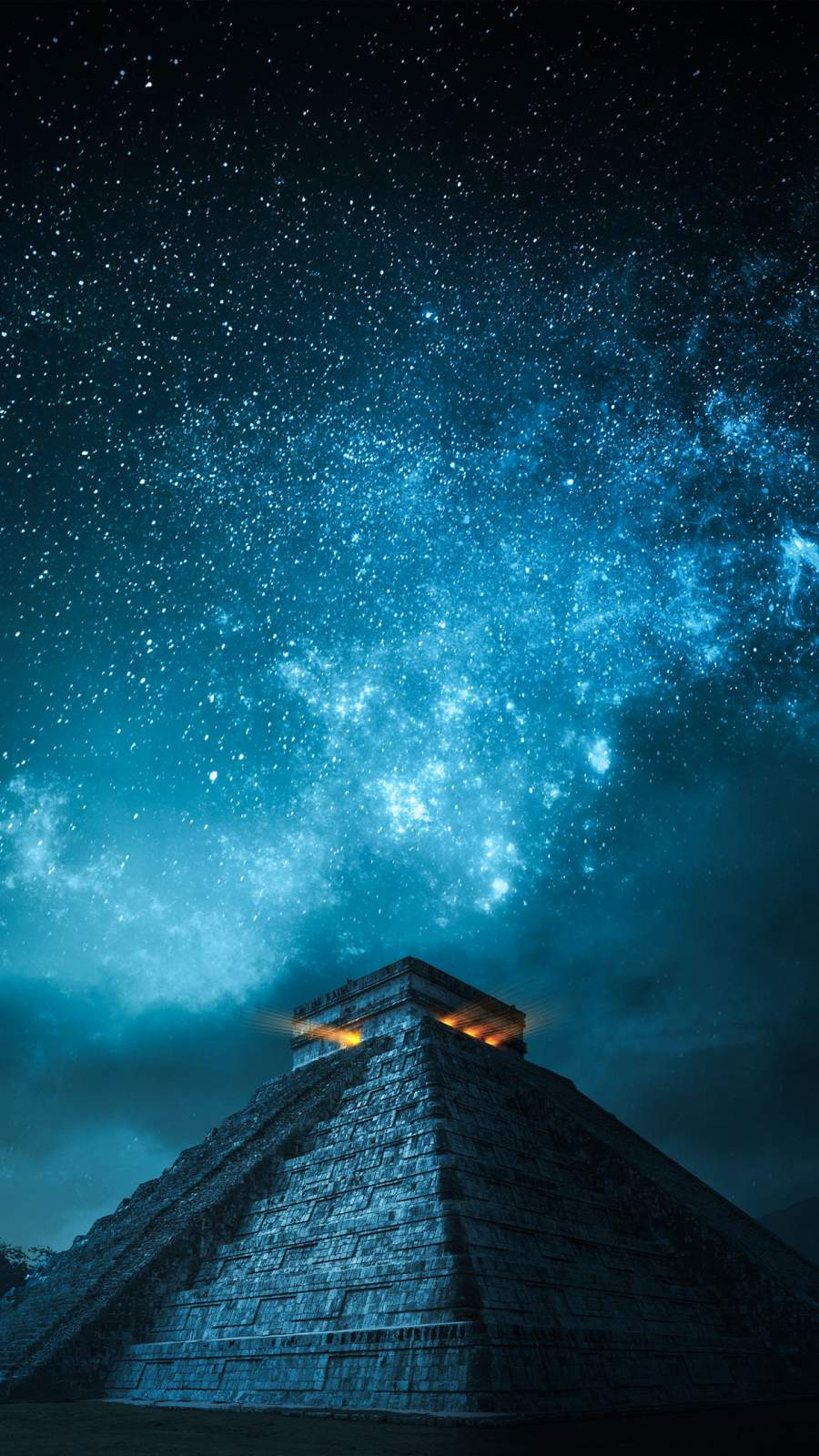 Chichen Itza iPhone Wallpaper
