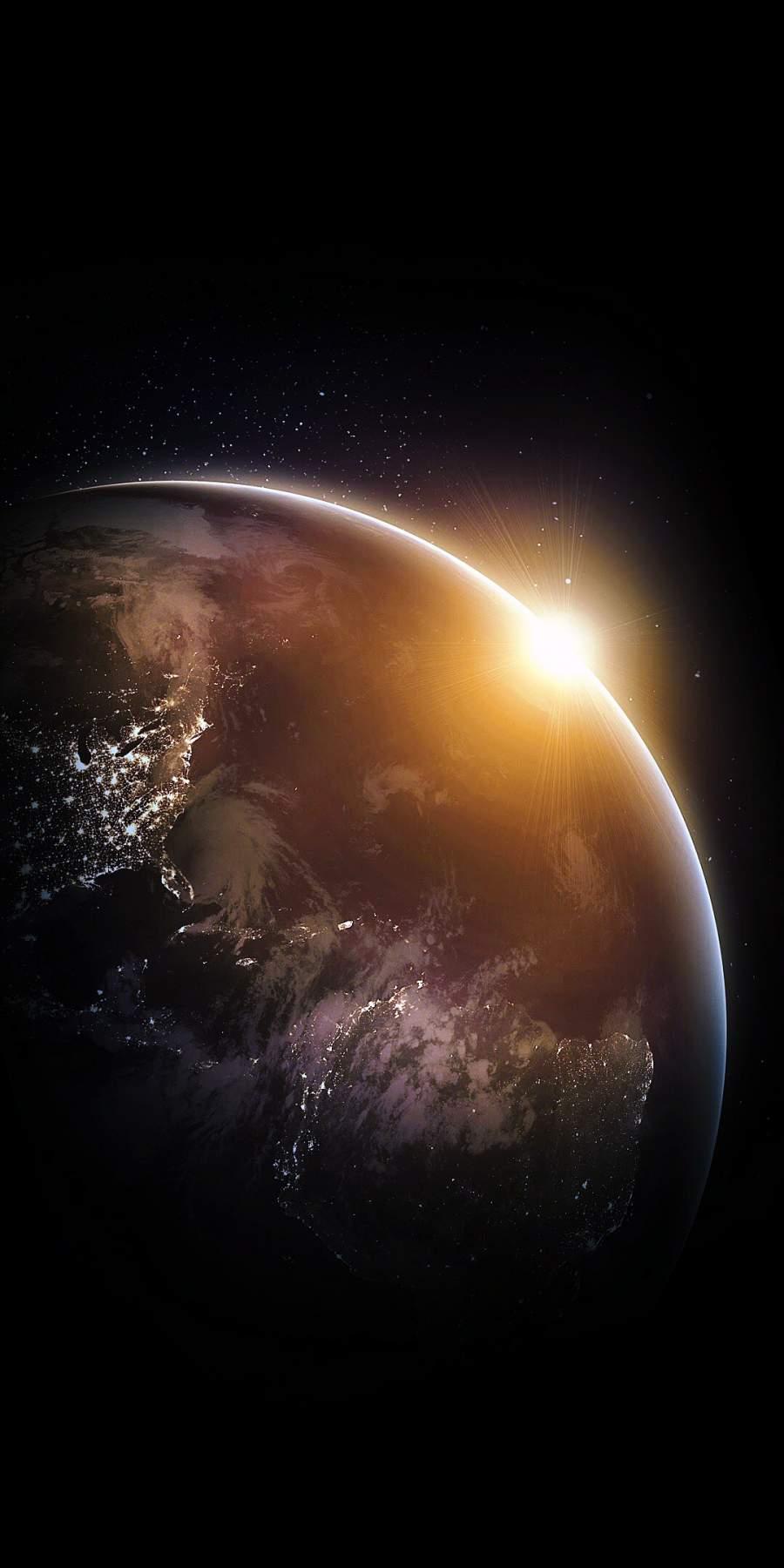 Dark Earth iPhone Wallpaper