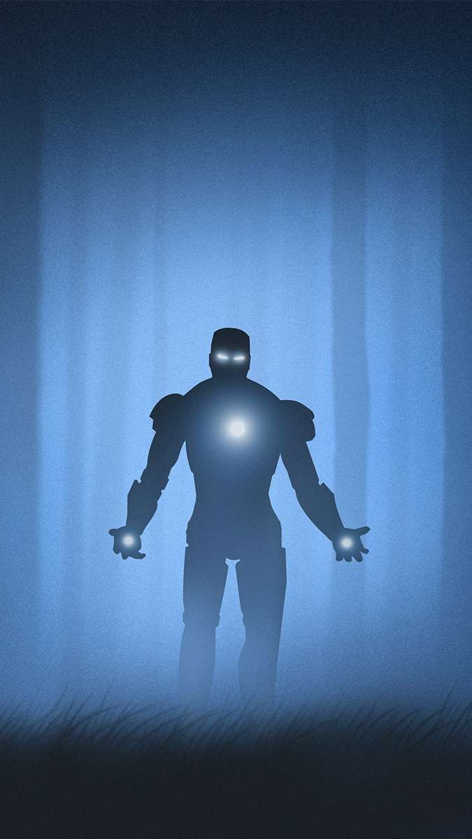 Dark Ironman iPhone Wallpaper