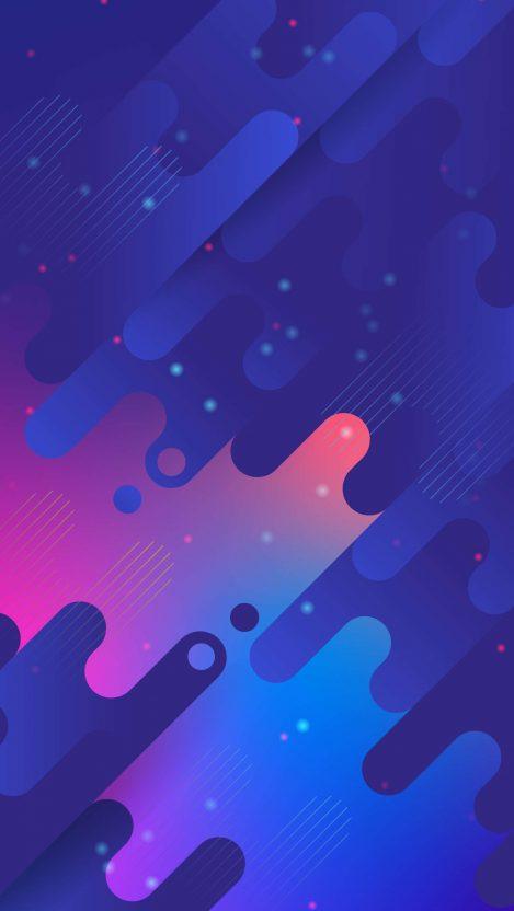 Digital Abstract Art iPhone Wallpaper