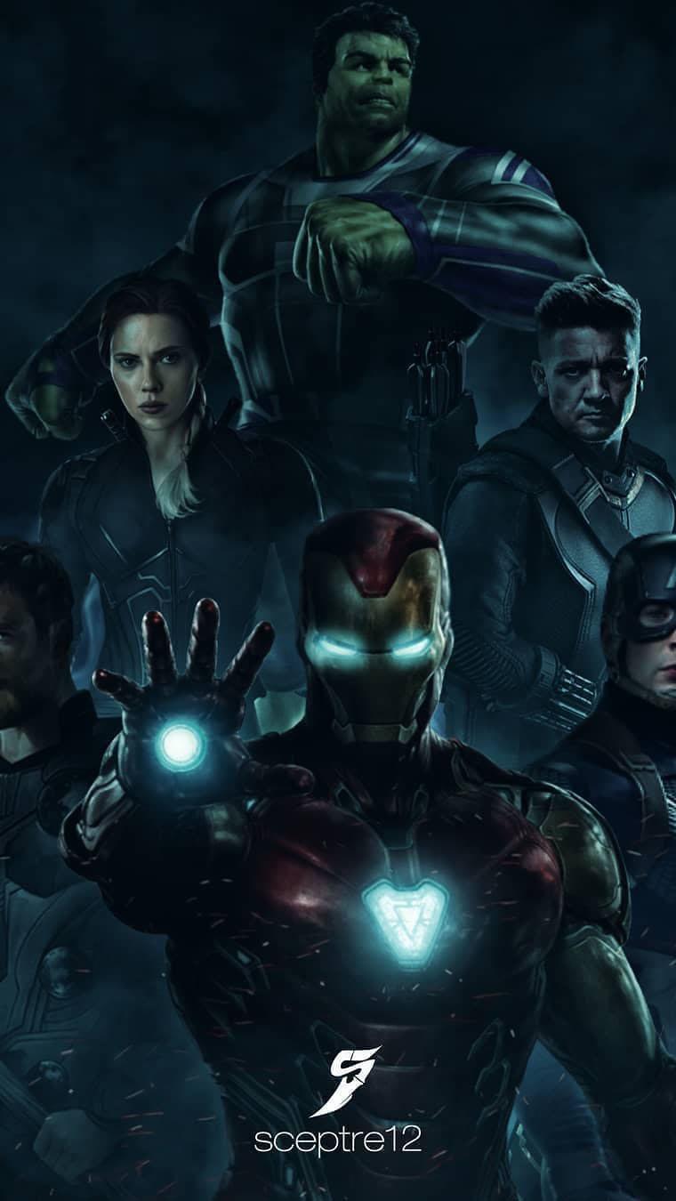 Endgame Avengers iPhone Wallpaper