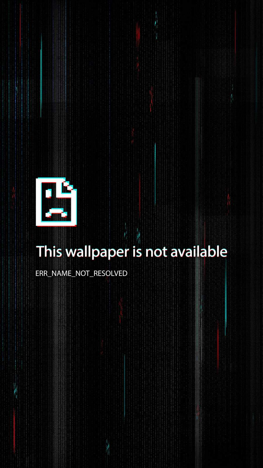 Error This Wallpaper is not available iPhone Wallpaper