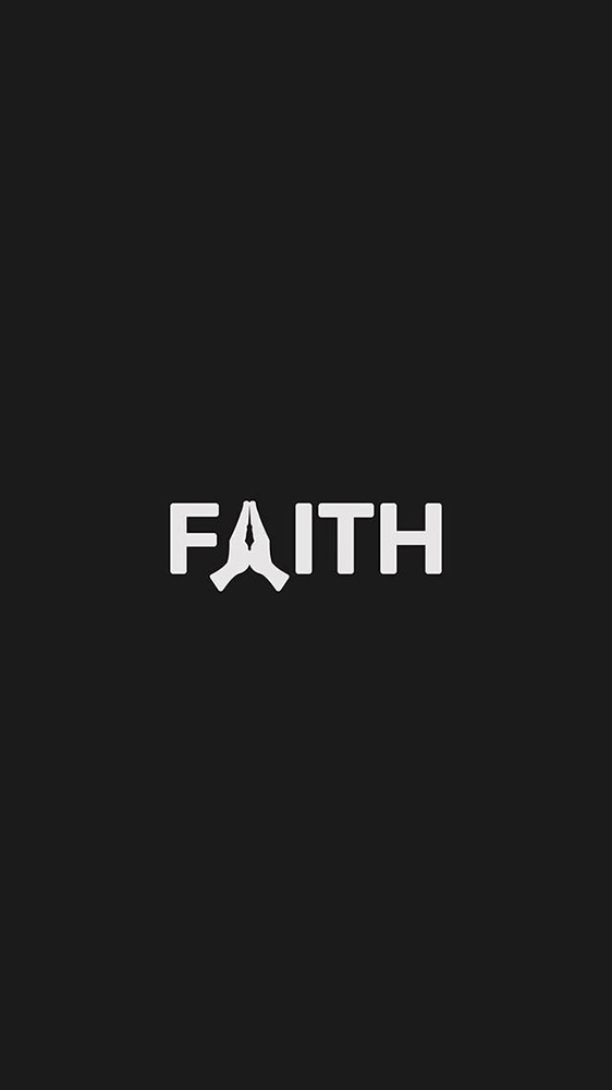 Faith iPhone Wallpaper