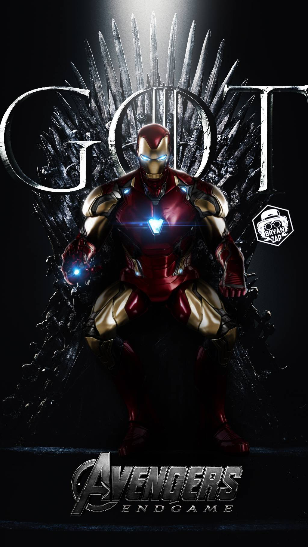 Game of Thrones Iron Man iPhone Wallpaper