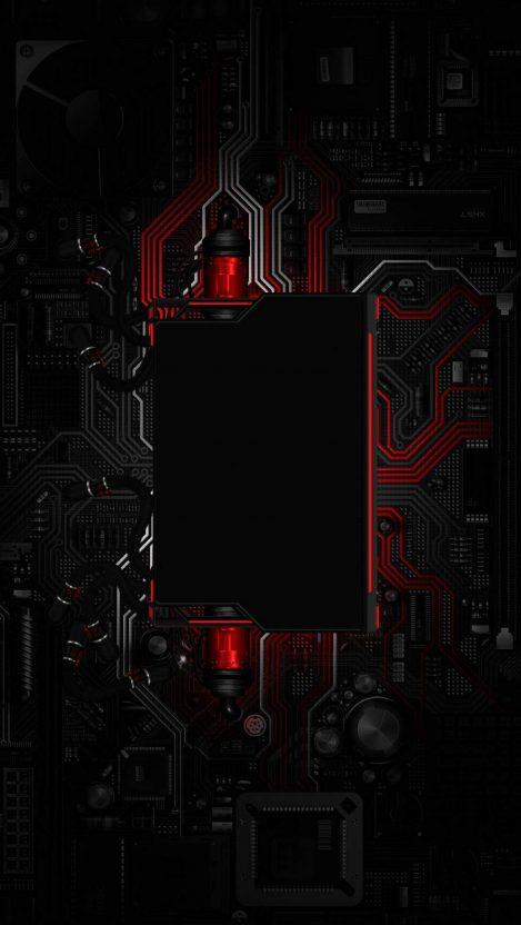 Gaming Motherboard iPhone Wallpaper