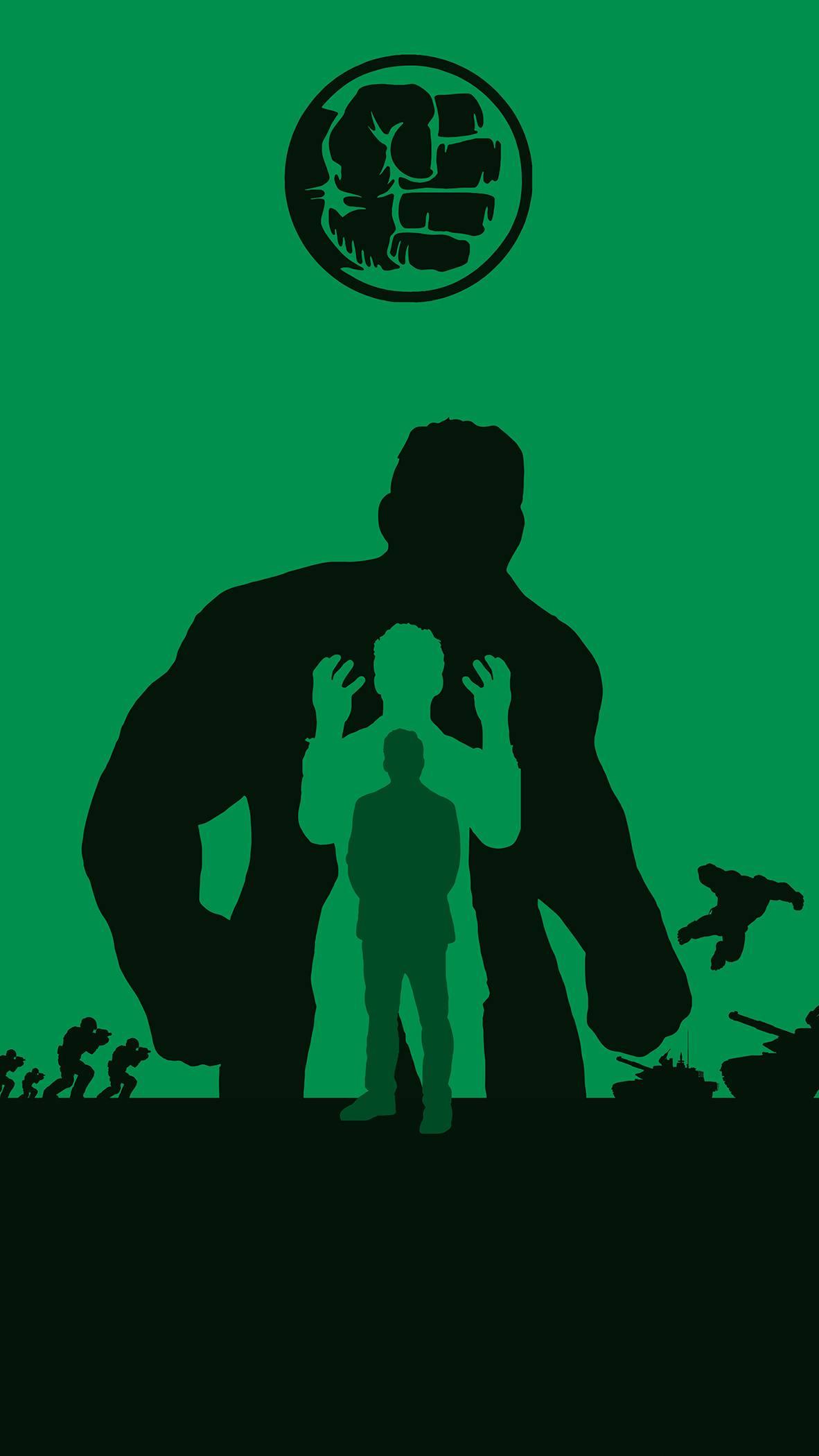 Hulk Bruce Banner iPhone Wallpaper