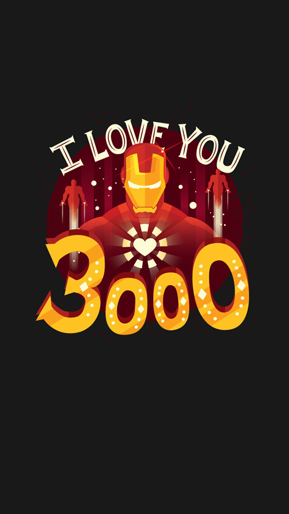 I Love You 3000 iPhone Wallpaper 1