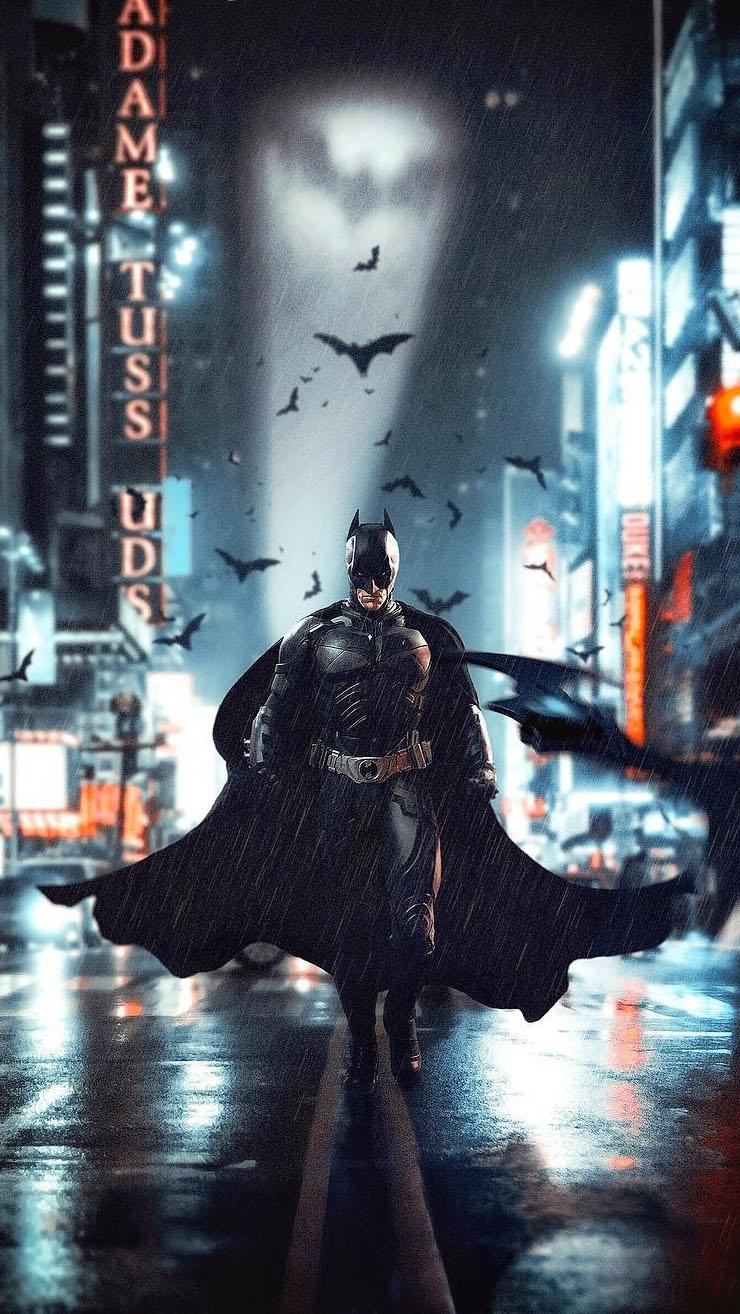 I am Batman iPhone Wallpaper