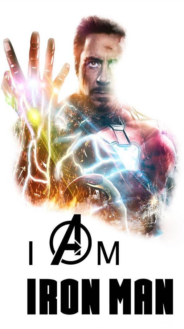 I am Iron Man Tony Stark Poster iPhone Wallpaper