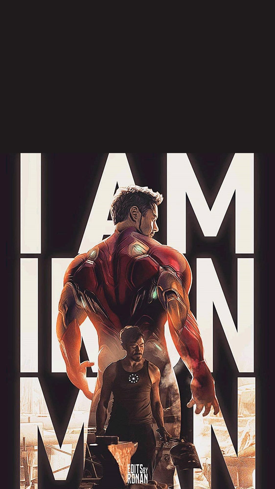 I am Iron Man iPhone Wallpaper 1