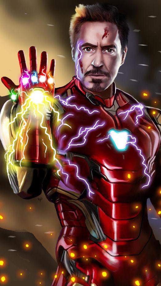I am Ironman Sacrifice Snap iPhone Wallpaper iPhone Wallpaper