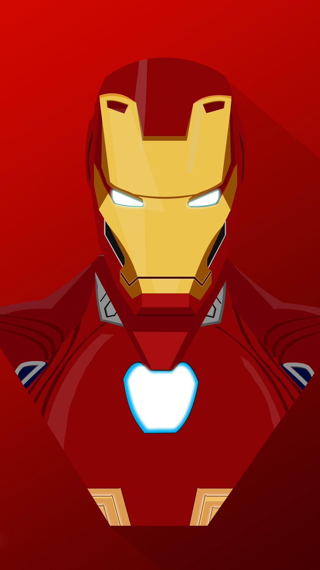 Iron Man Bleeding Edge Armor iPhone Wallpaper