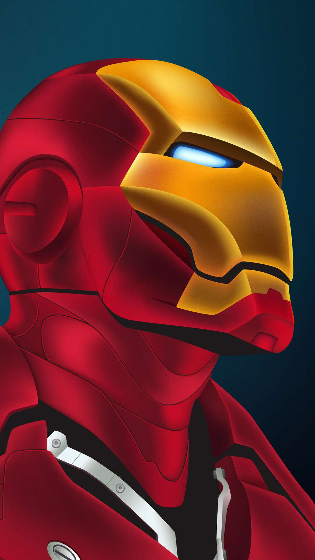 Iron Man Closeup iPhone Wallpaper