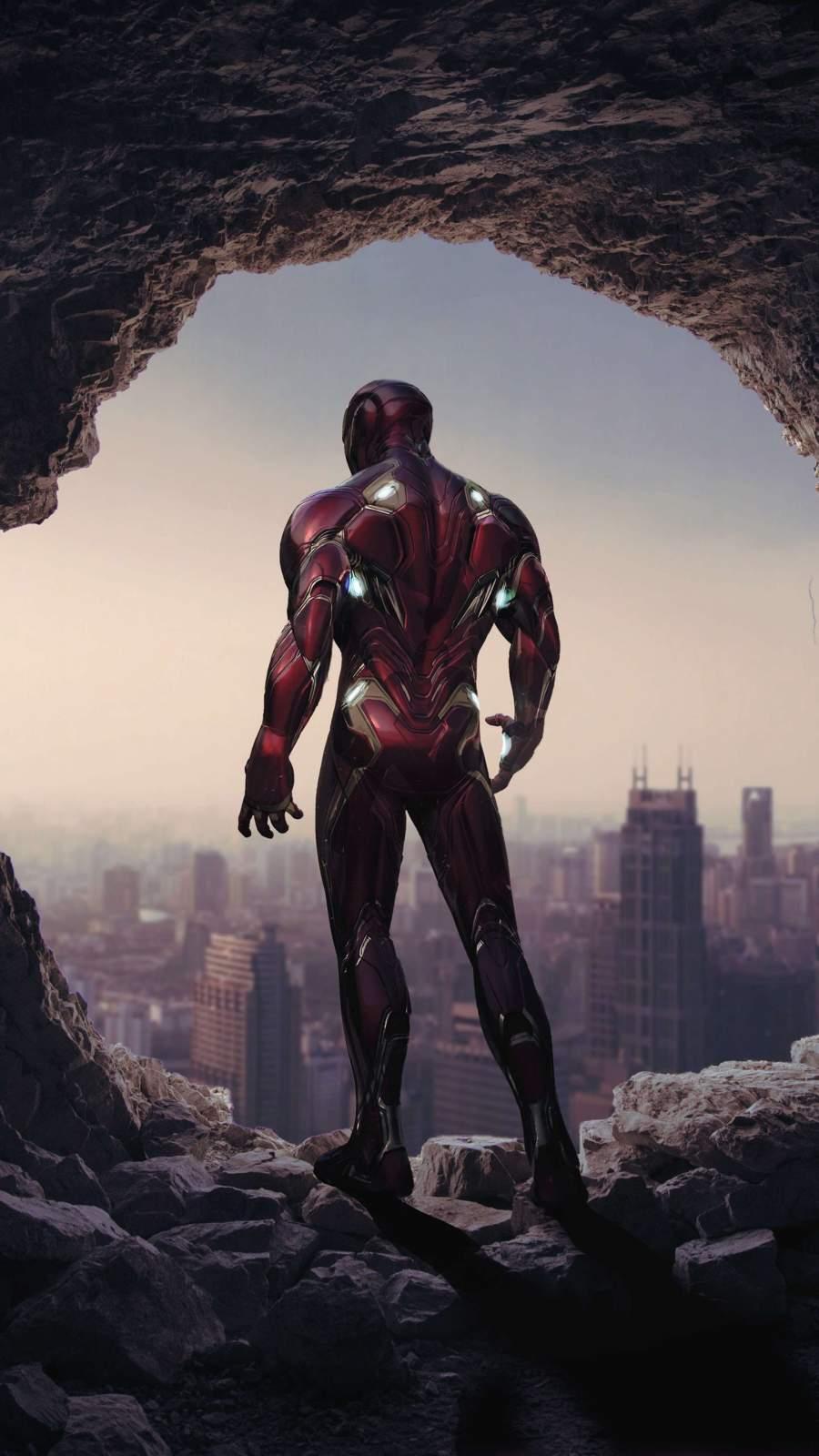 Iron Man Endgame 4k iPhone Wallpaper