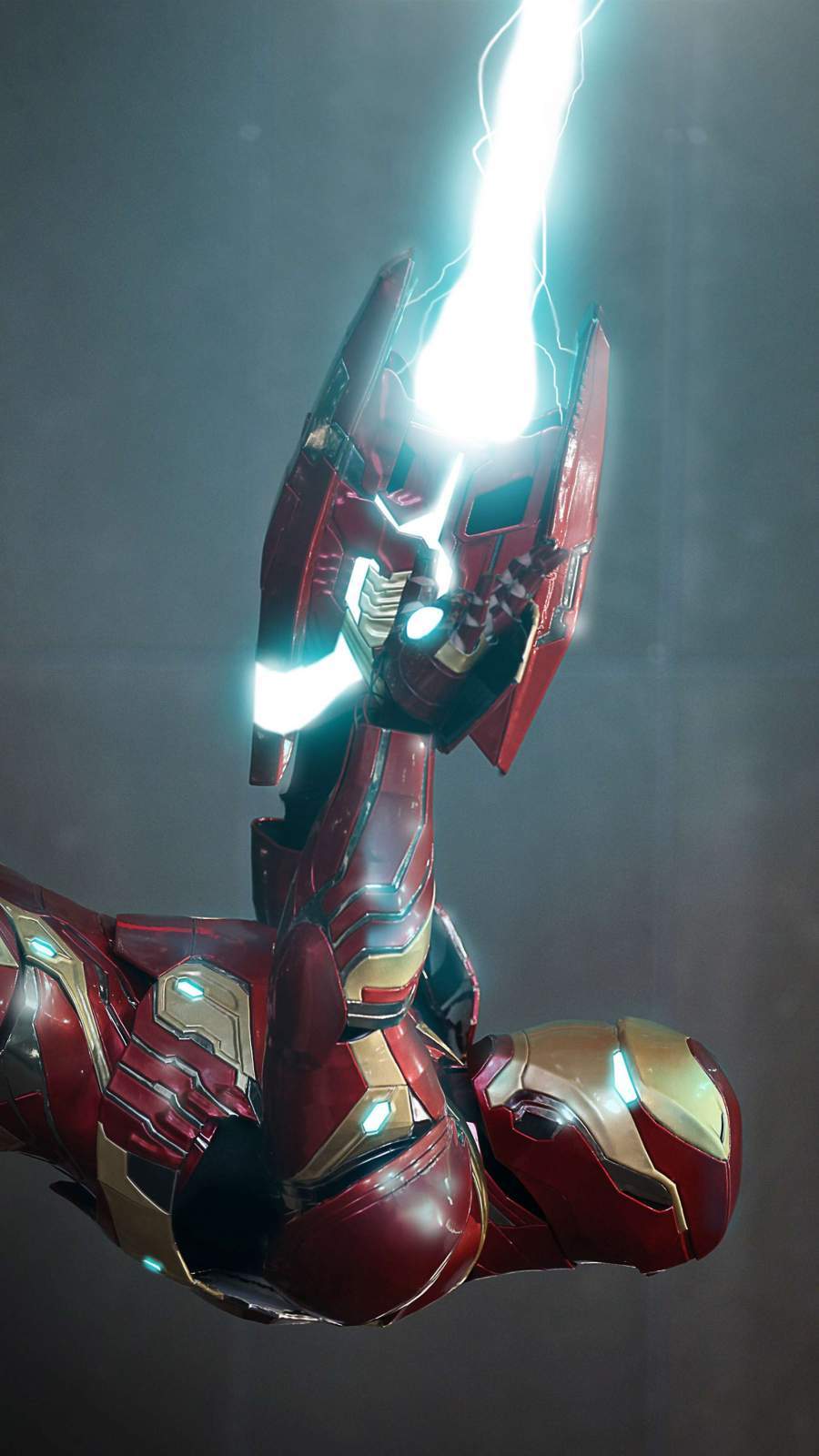 Iron Man Energy Displacer Cannon iPhone Wallpaper