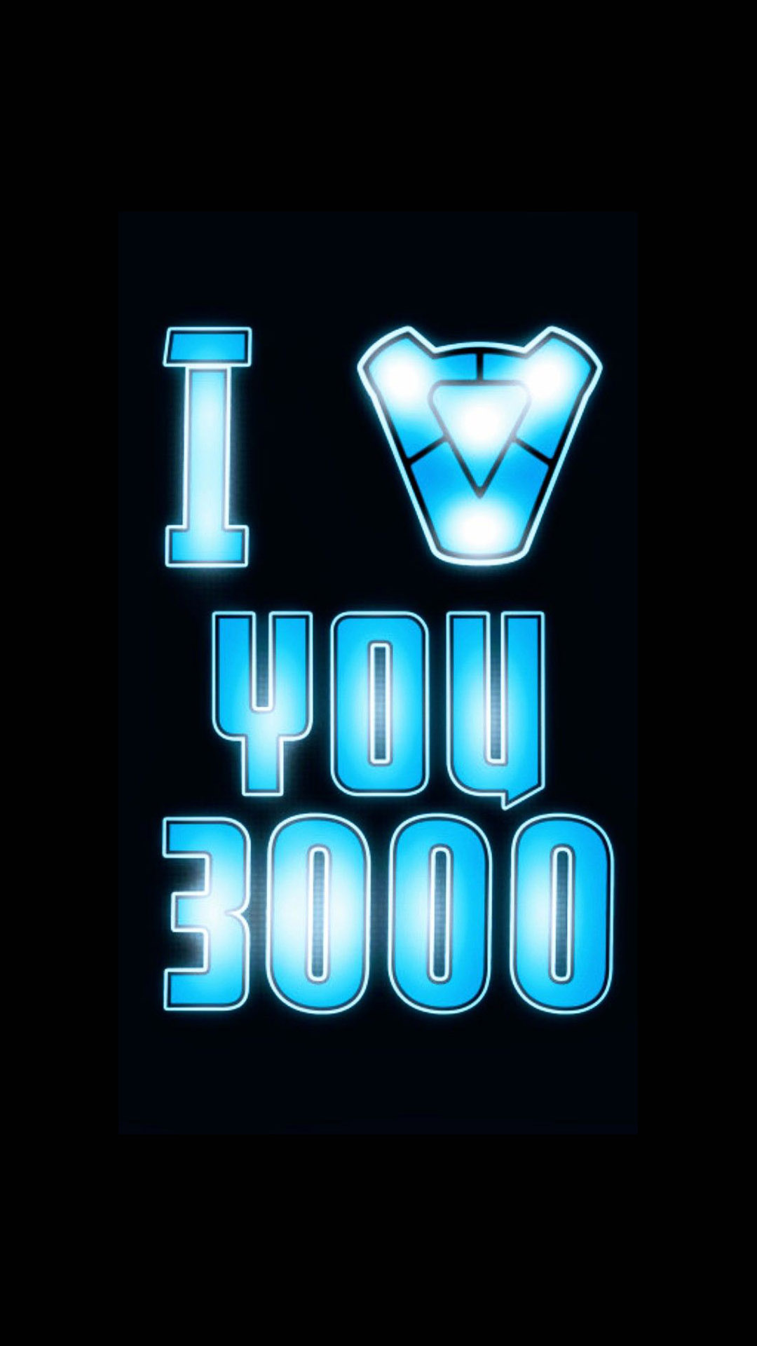 Iron Man I Love You 3000 iPhone Wallpaper