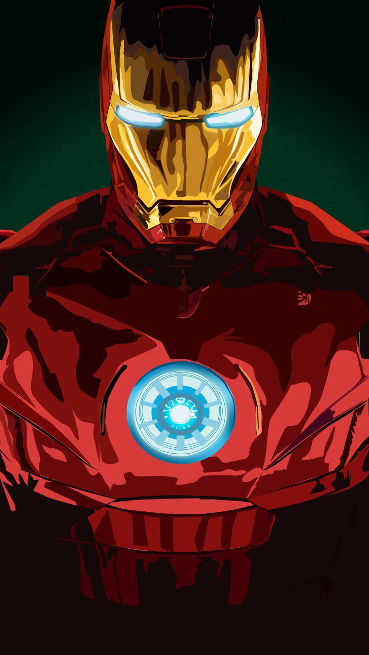 Iron Man MK 4 iPhone Wallpaper