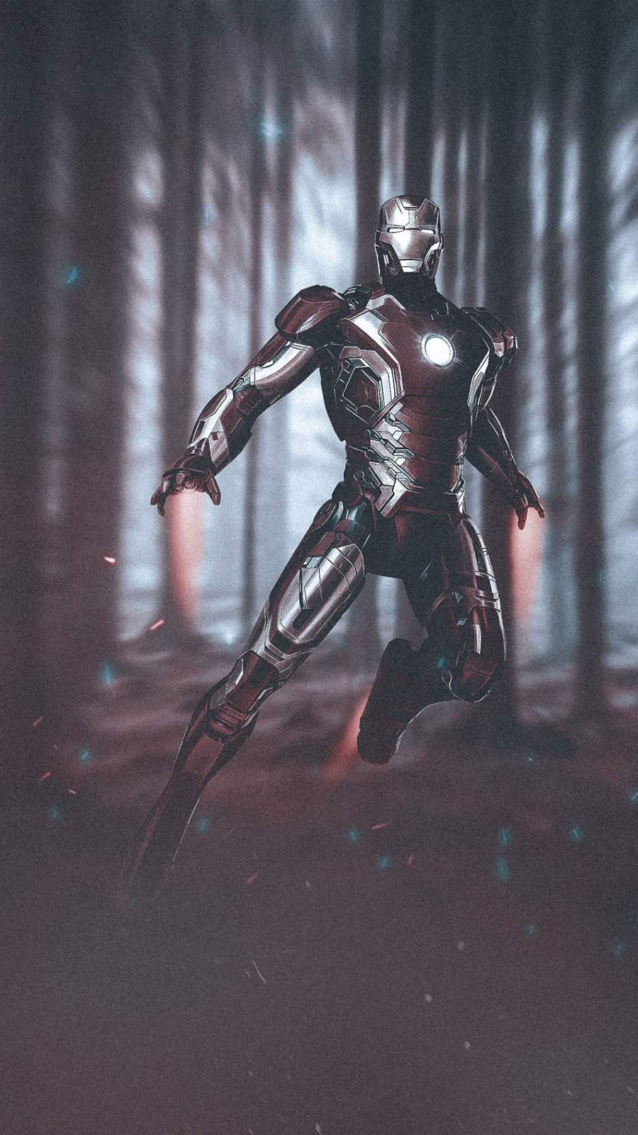 Iron Man Mark 43 iPhone Wallpaper