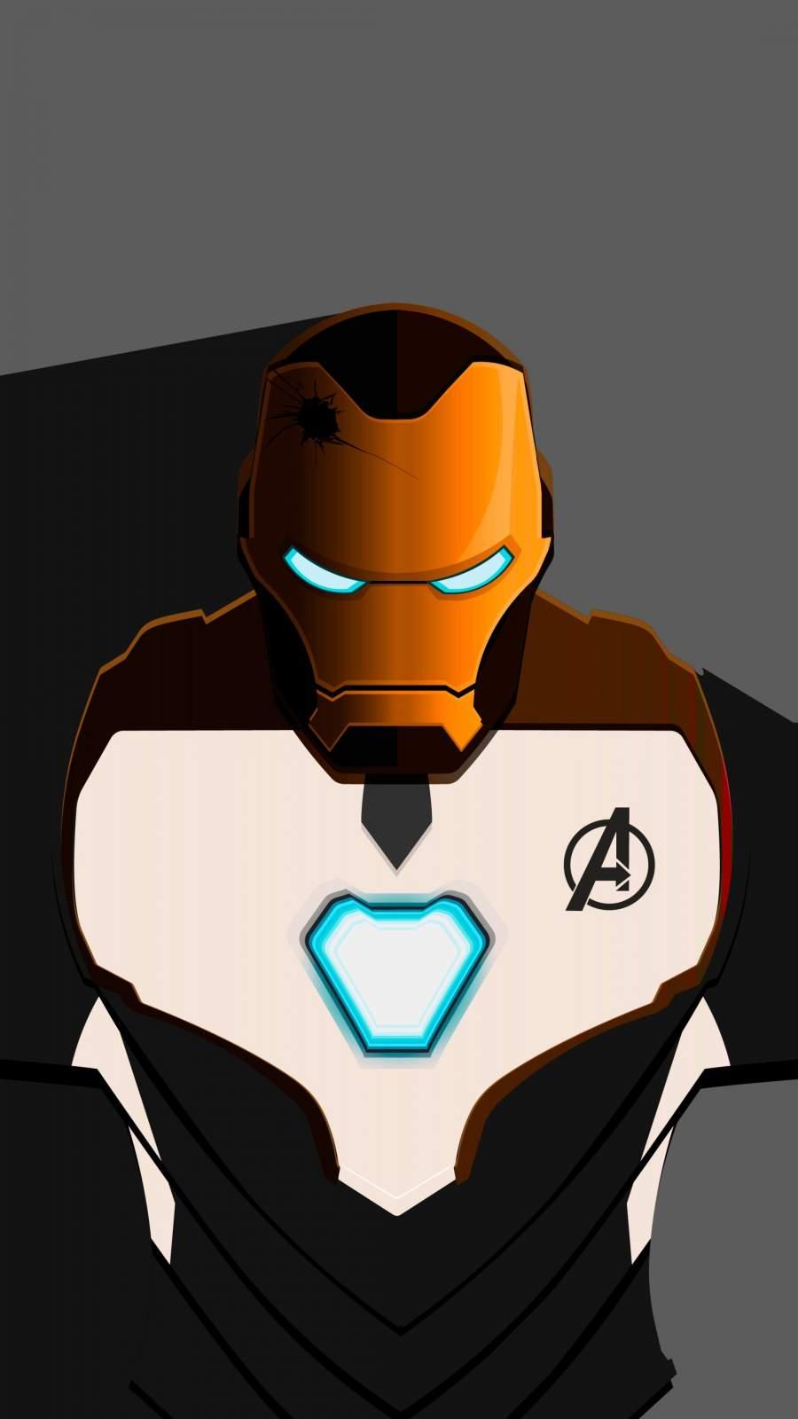 Iron Man Mark 50 Quantum Suit iPhone Wallpaper