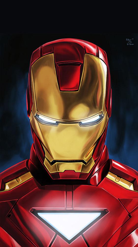Iron Man Mark 6 iPhone Wallpaper