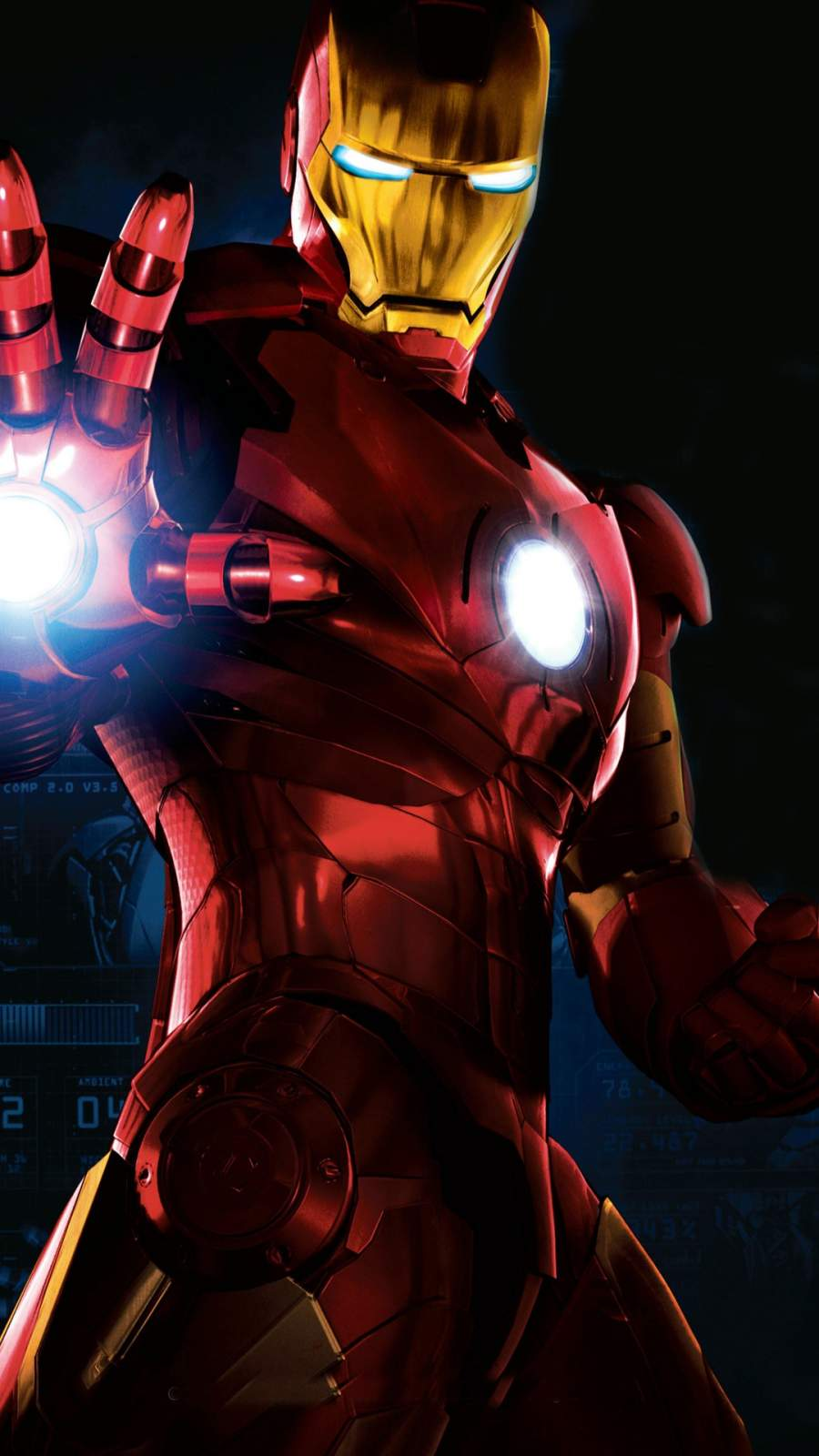 Iron Man Mark 7 iPhone Wallpaper 1