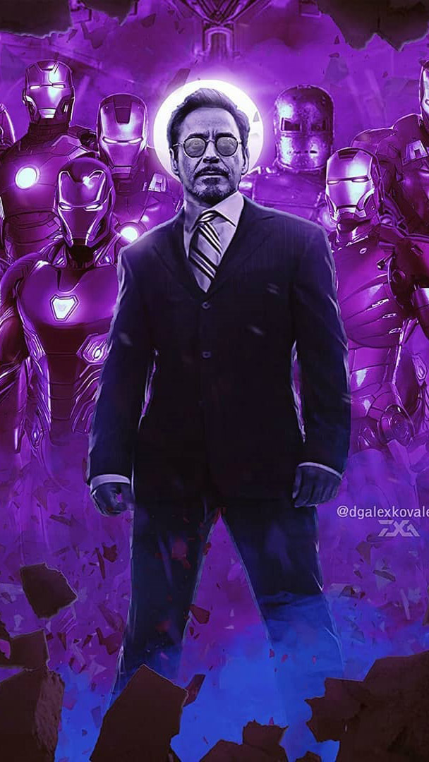 Iron Man and his Suits iPhone Wallpaper iPhone Wallpaper