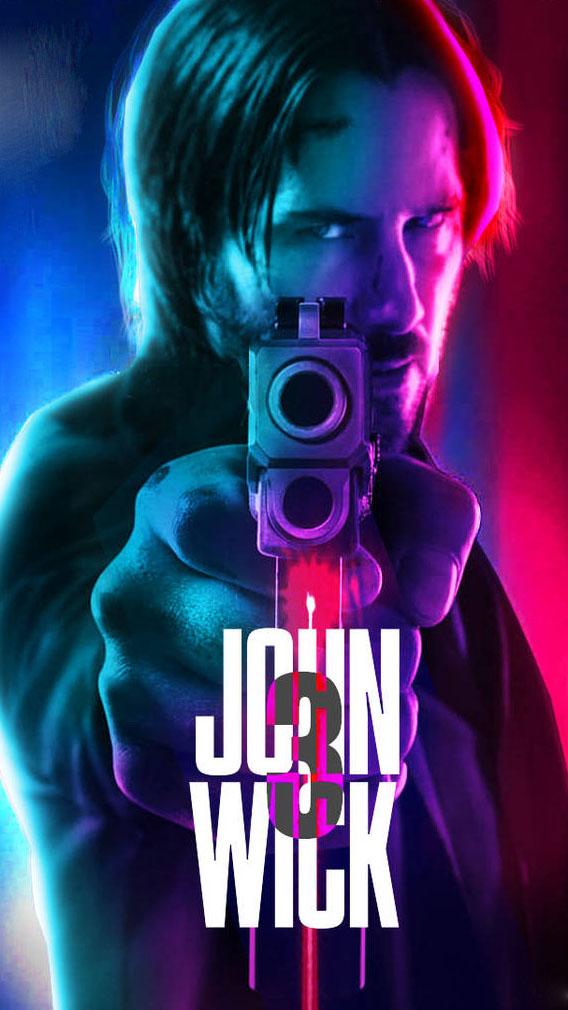 John Wick 3 Poster iPhone Wallpaper