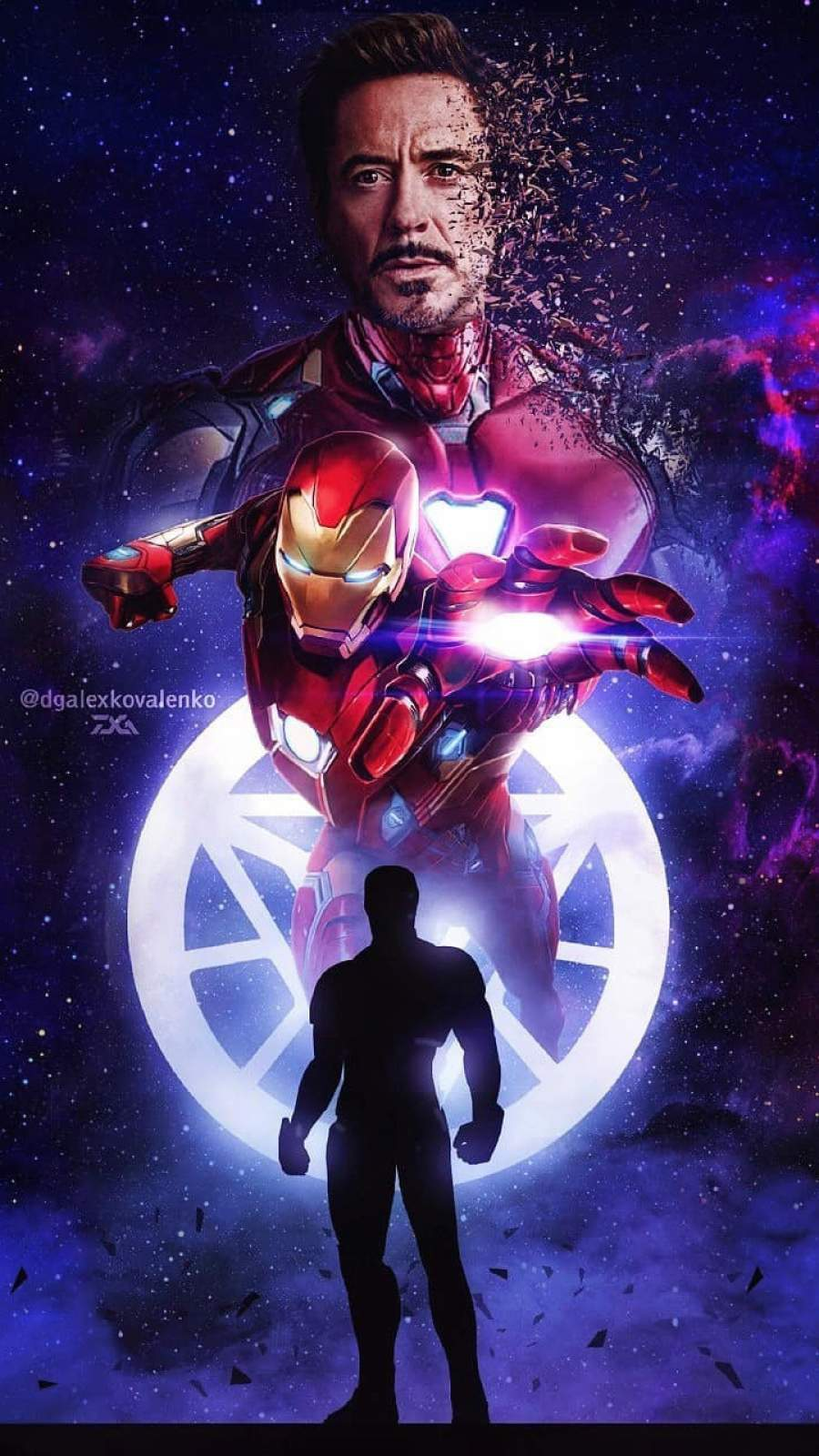 Legend Tony Stark iPhone Wallpaper