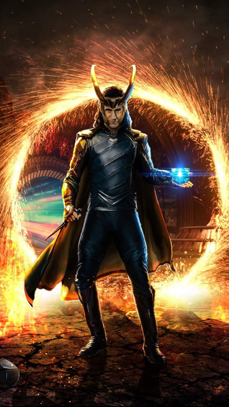 Loki is back iphone wallpaper iphone wallpapers - Loki phone wallpaper ...