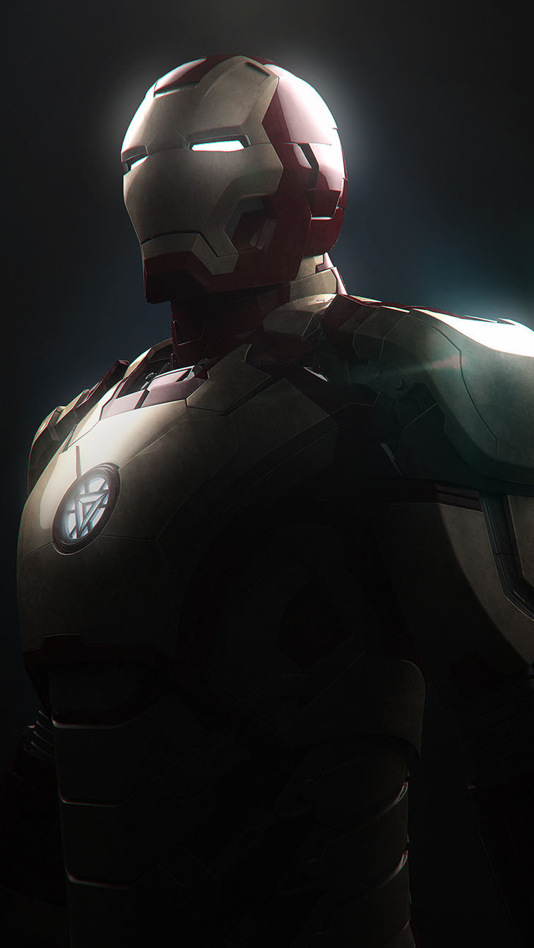 Mark 42 Iron Man iPhone Wallpaper 1