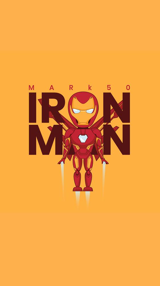 Mark 50 Iron Man iPhone Wallpaper