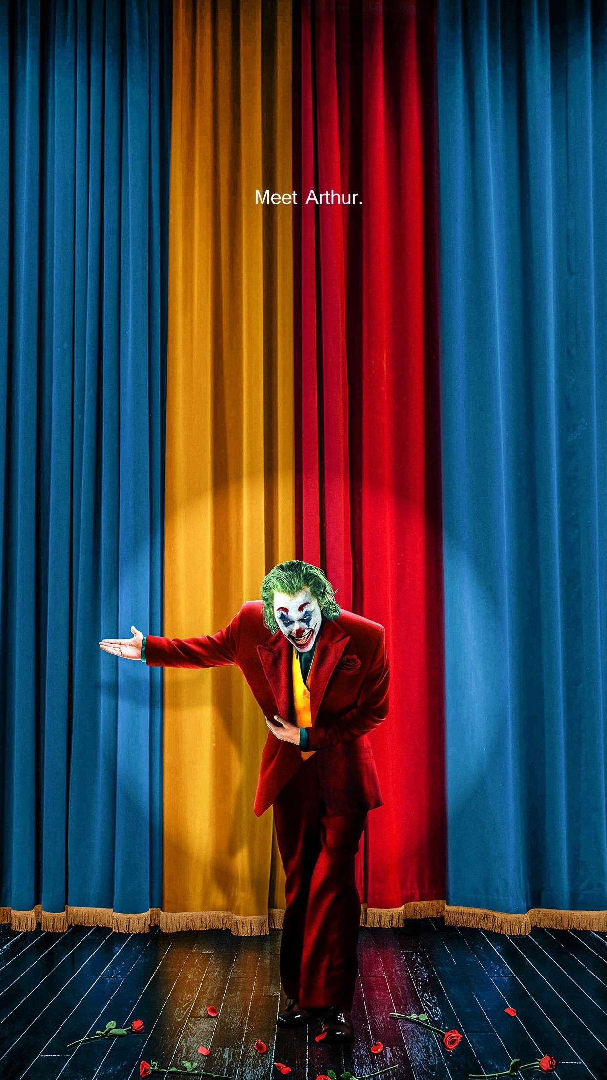 Meet Arthur The Joker iPhone Wallpaper
