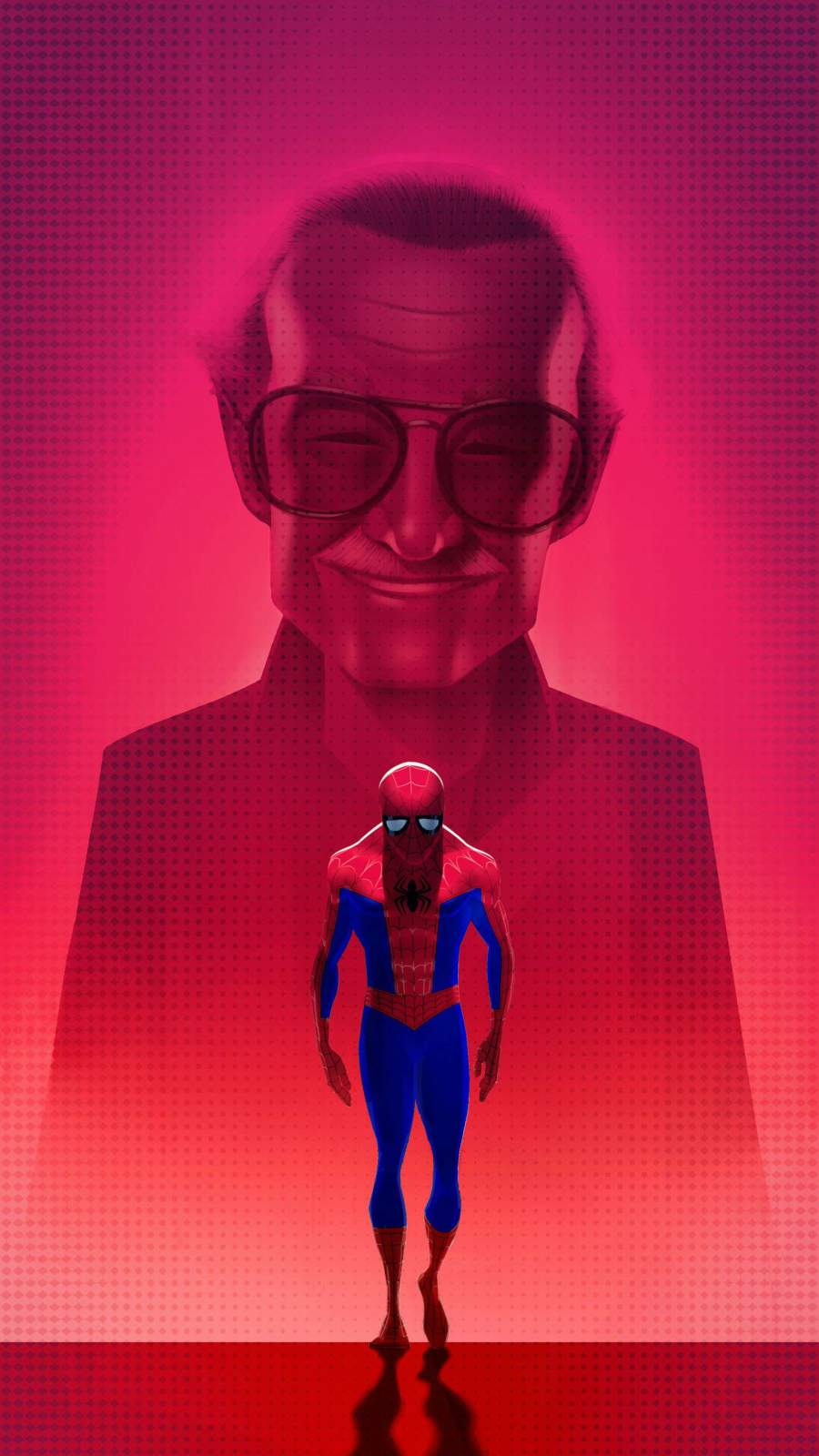 Missing Stan Lee iPhone Wallpaper