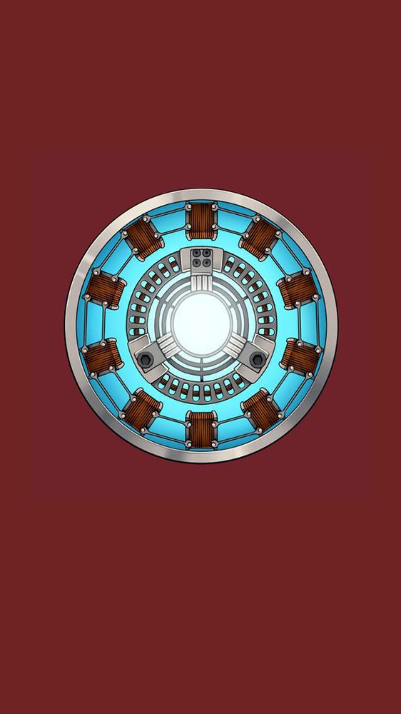 Palladium Arc Reactor Mark 1 iPhone Wallpaper