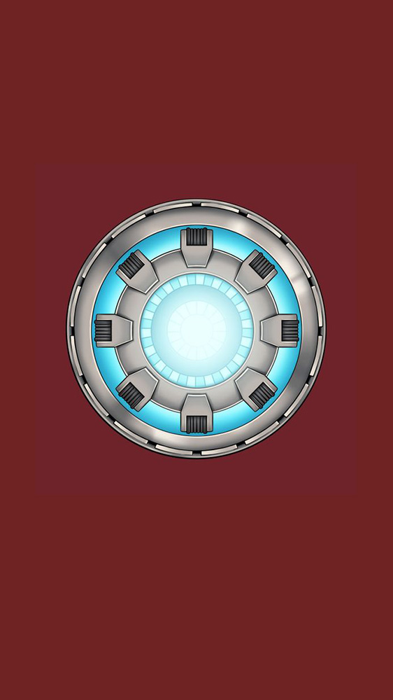 Palladium Arc Reactor Mark III iPhone Wallpaper