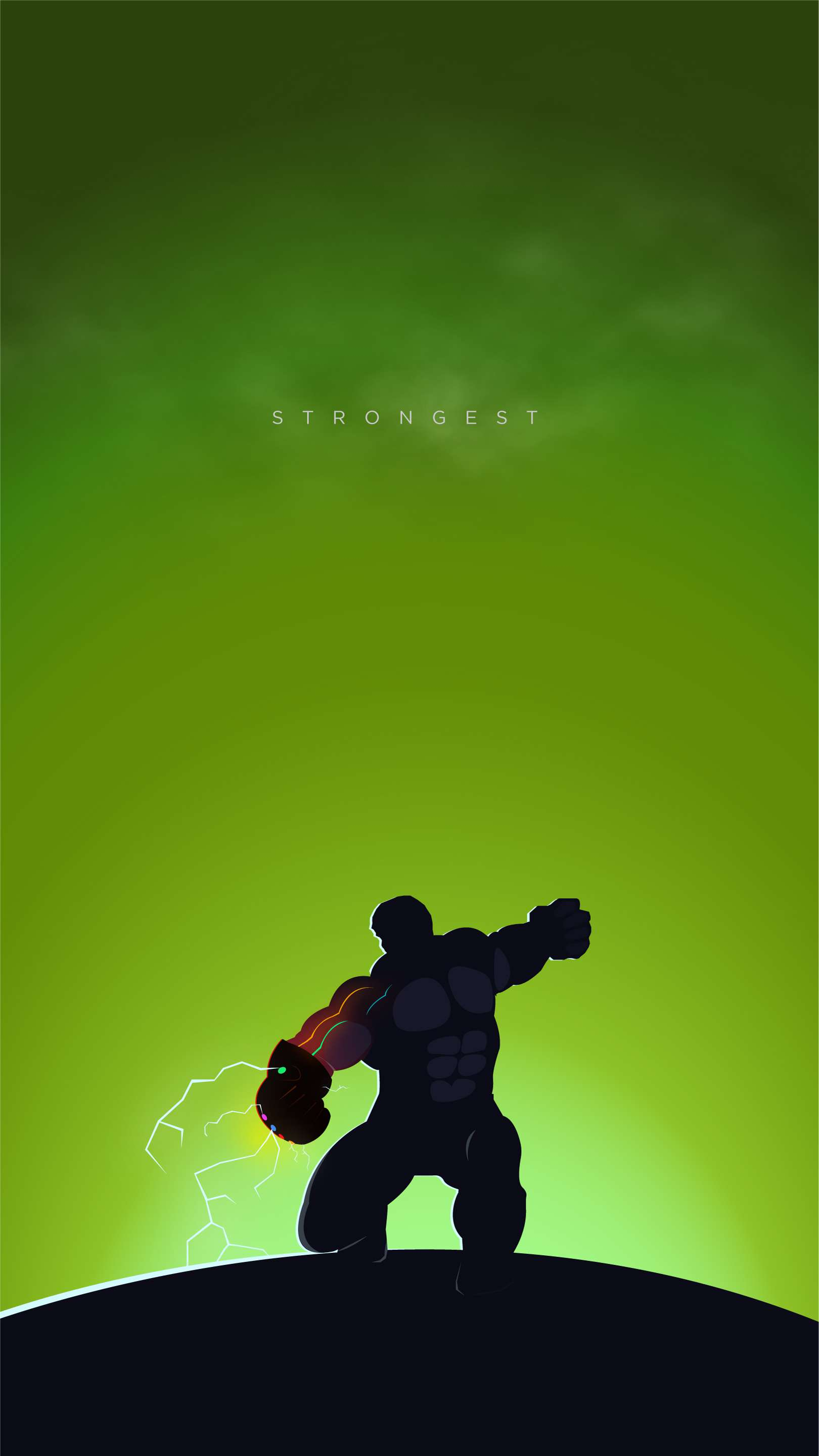 Professor Hulk iPhone Wallpaper