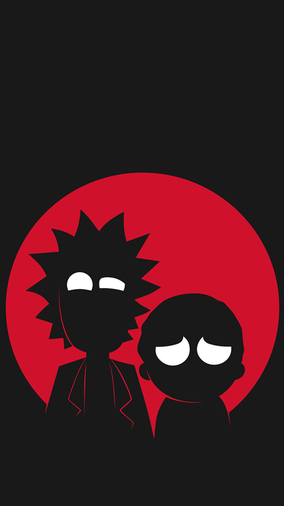 Rick and Morty iPhone Wallpaper
