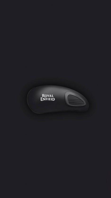Royal Enfield Stealth Black iPhone Wallpaper