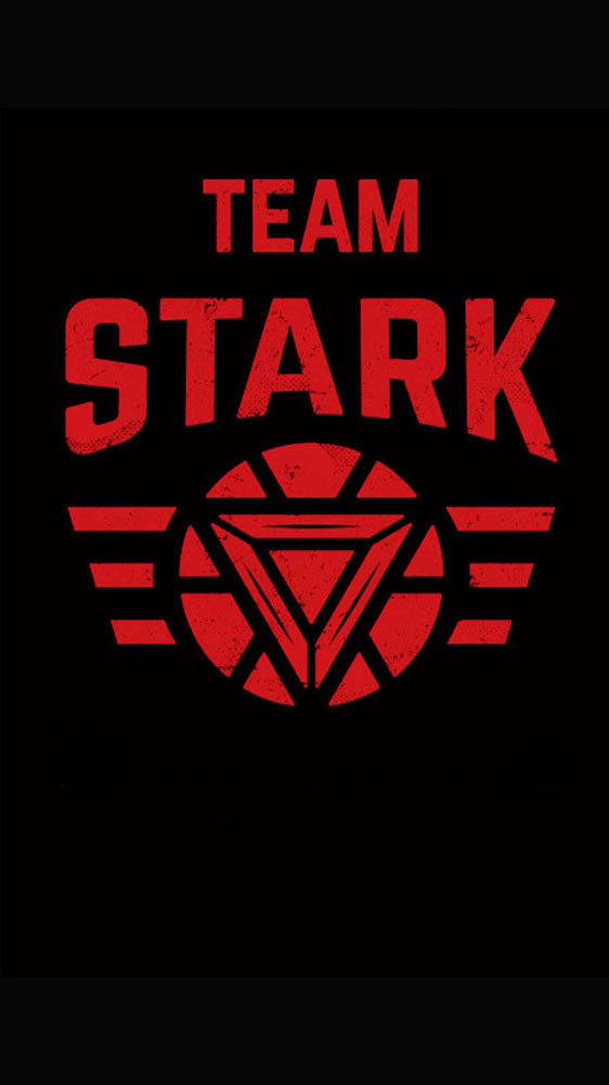 Team Stark iPhone Wallpaper