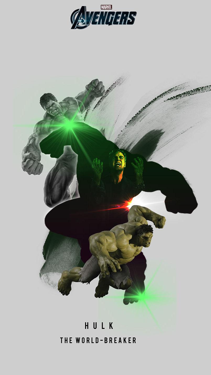 The Hulk iPhone Wallpaper