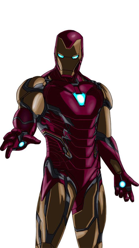 The Iron Man Mark 85 iPhone Wallpaper 1